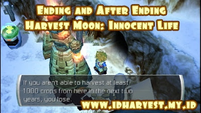 Ending yang bisa terjadi di Harvest Moon Innocent Life