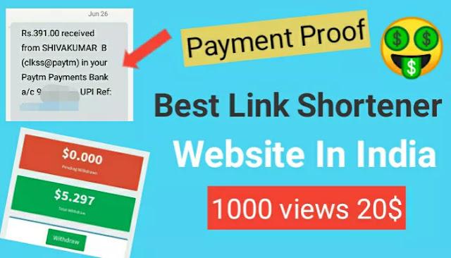 Best Link Shortener To Earn Money In India - 2020