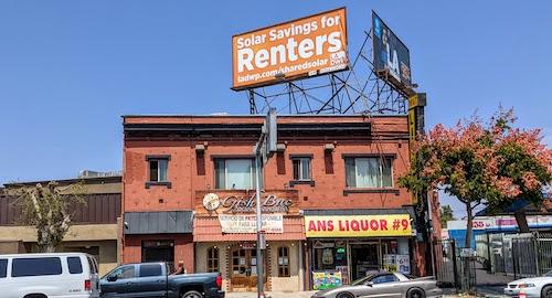 Washington Blvd. facade