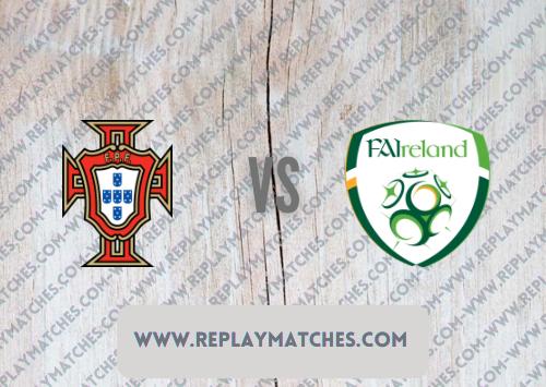 Portugal vs Republic of Ireland -Highlights 01 September 2021