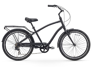 Sixthreezero Men's EVRYjourney Hybrid Cruiser Bike, matte black, image, review features & specifications