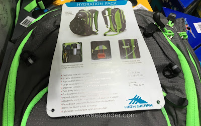 High Sierra Visalia 9 Hydration Pack - Stay hydrated this summer during those miles on the bike