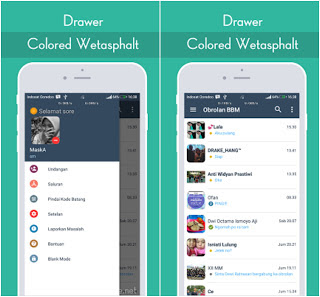 Download BBM Colored Wetasphalt v3.2.5.12 APK Update 2017 Terbaru Gratis