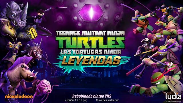 Las Tortugas Ninja: Leyendas v1.4.14 Apk Mod [Dinero]