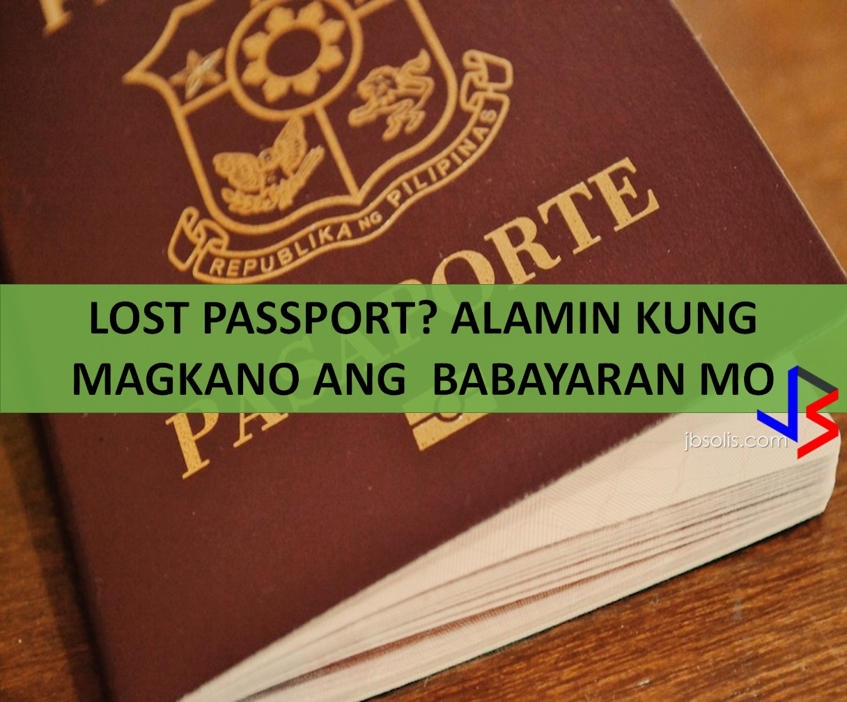 Lost passport check the requirements and fees here loosing your philippine passport when you are abroad is not an easy experience it requires aiddatafo Gallery