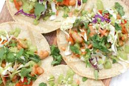 Vegan White Bean Tacos with Jalapeno Cilantro #vegan #recipevegetarian