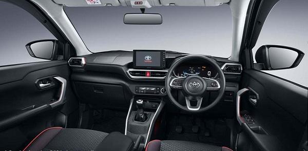 Kabin interior Toyota Raize