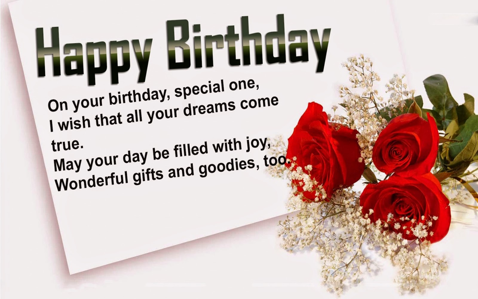 Long Birthday Message For Girlfriend Birthday Wishes For