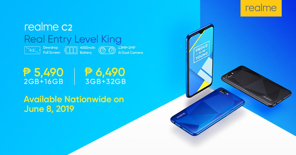 Realme C2 Launched and Priced in the Philippines - DugomPinoy | A