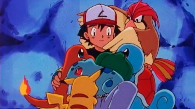 Anime Pokémon - Ash y sus pokémon