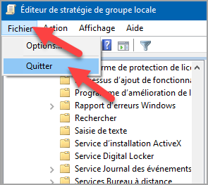 Mots-clés : Empêcher, interdire, utilisateurs, installation, logiciels, Windows 10, sécurité, administration, stratégie local, configuration, désactiver, Windows installer.
