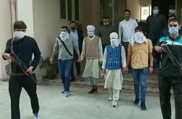 Two suspected militants arrested by Delhi Police Special Cell