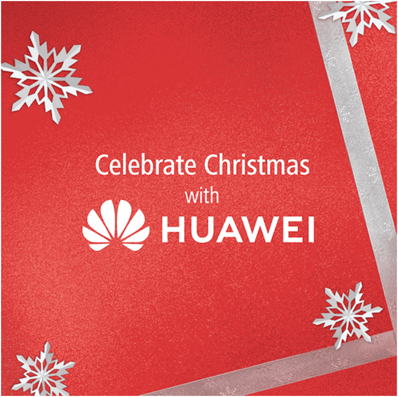 Celebrate Christmas with Huawei