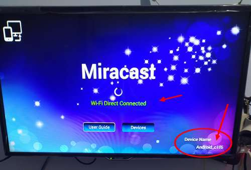 MIRACAST di TV BOX Huawei