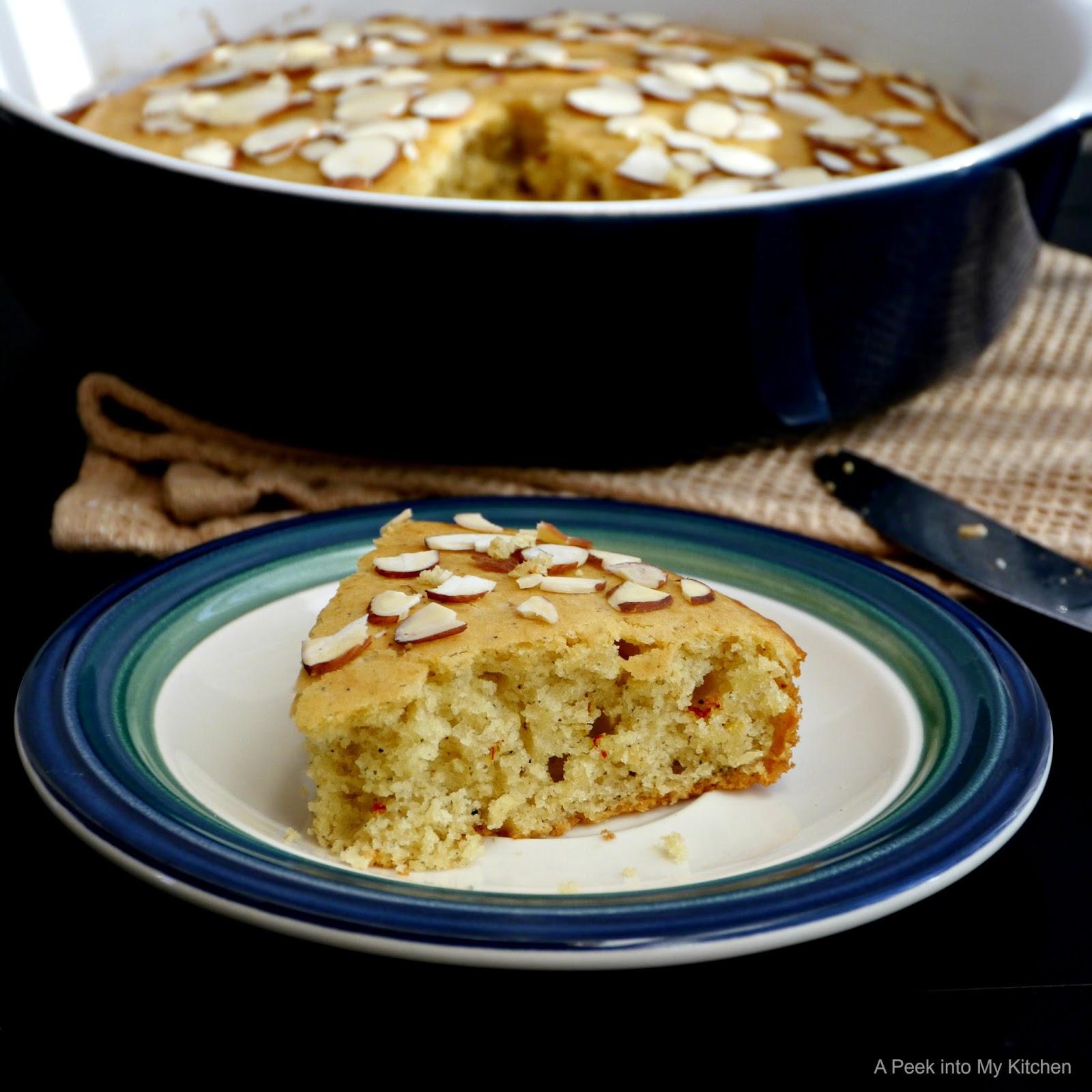 Saffron Cake Recipe