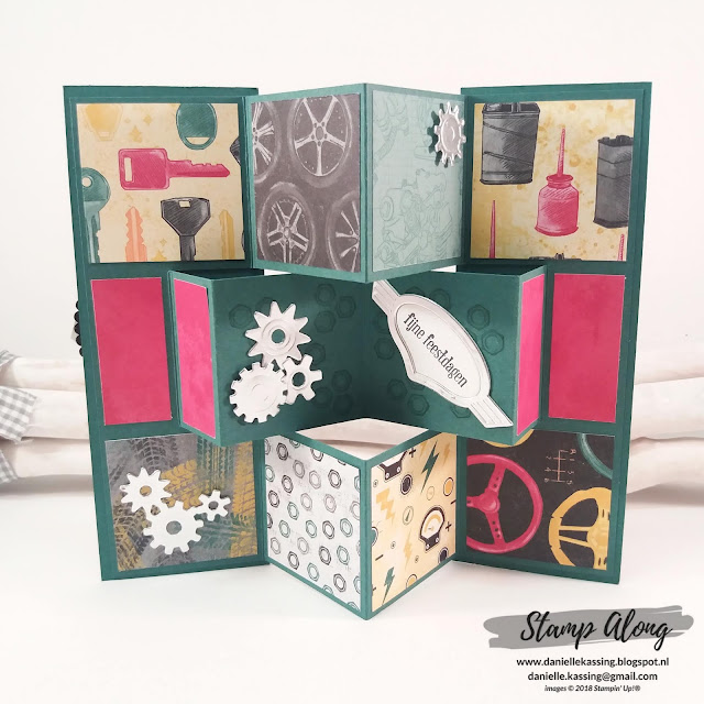 Stampin' Up! Classic Garage DSP - Geared Up Garage bundle