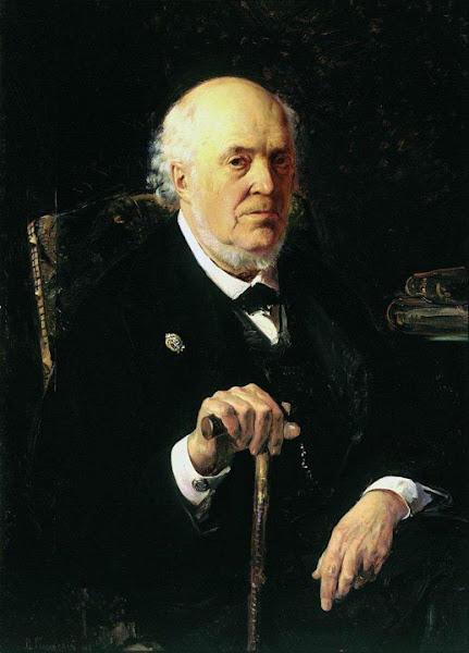 Маковский Владимир Егорович - Портрет Е.И.Маковского. 1880