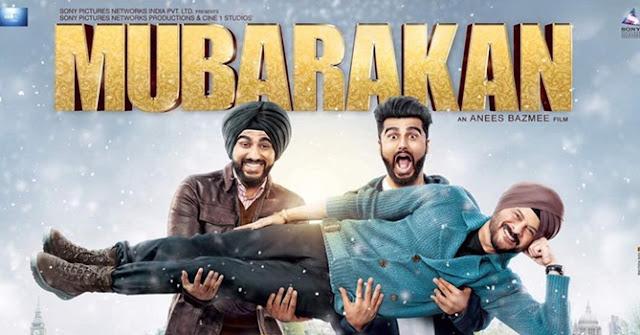 Mubarakan, Poster