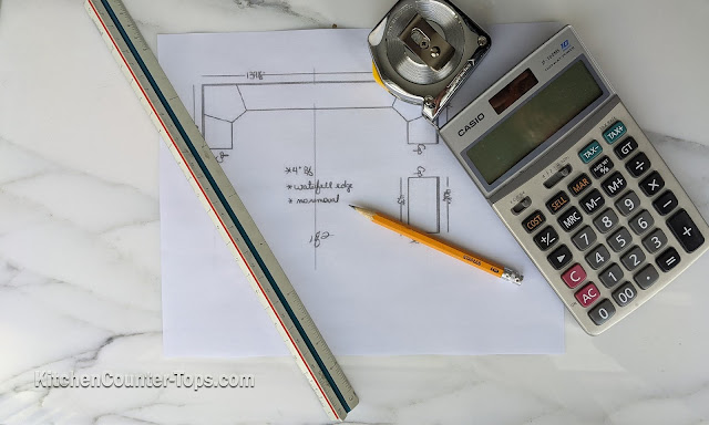 How to Measure Your Kitchen Countertop