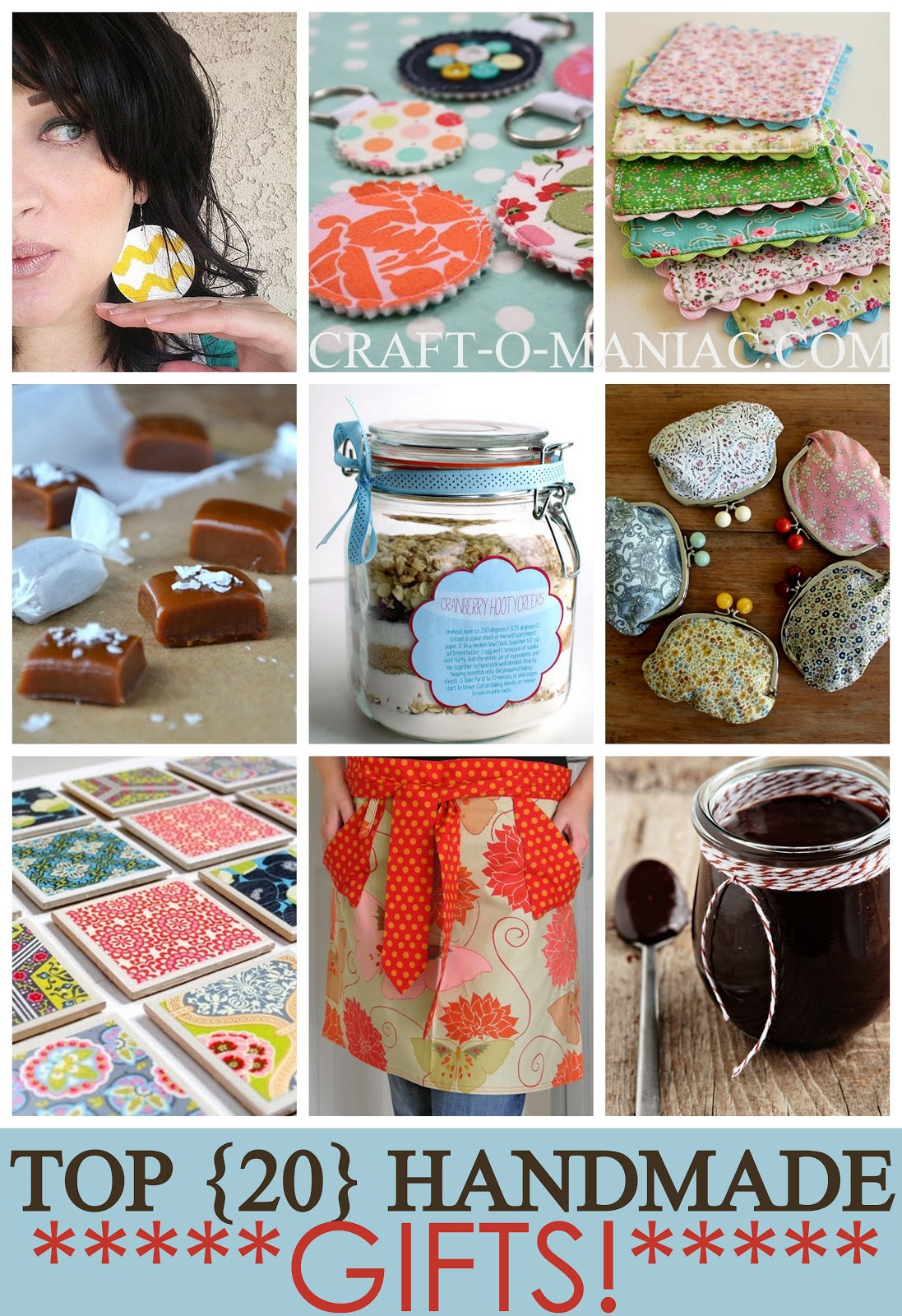 Top 20 Handmade Gifts