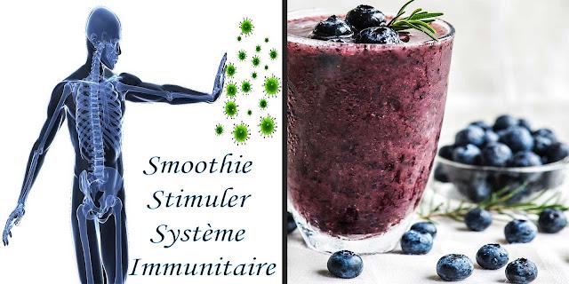 smoothie pour stimuler votre système immunitaire