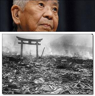 Tsutomu Yamaguchi : Menjadi korban bom Atom