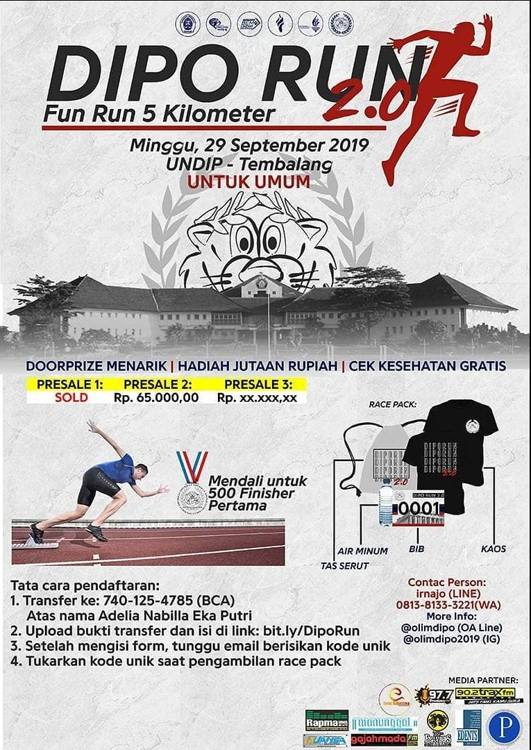 Dipo Run 2.0 • 2019