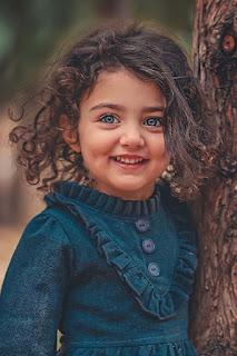 صورة الطفلة اناهيتا هاشم اجمل طفلة فى العالم