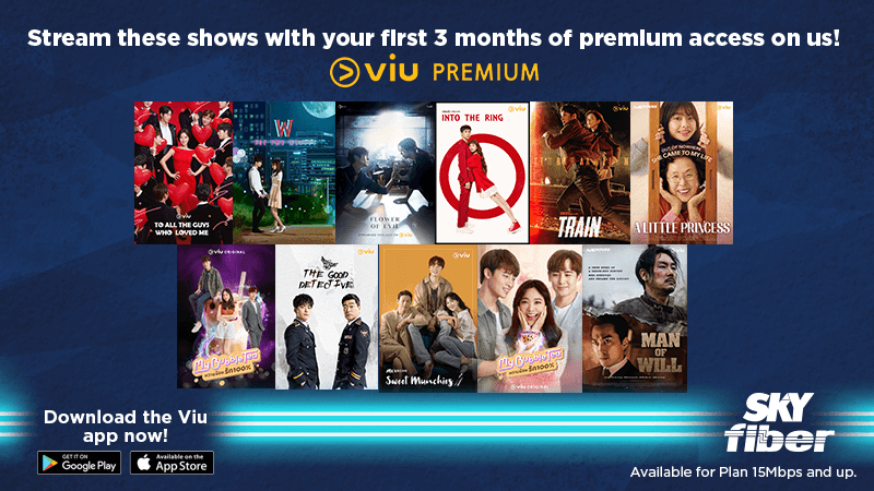 SKY Fiber's latest promo offers FREE 3-month access to Viu
