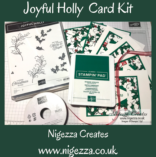 September Card Kit: Joyful Holly