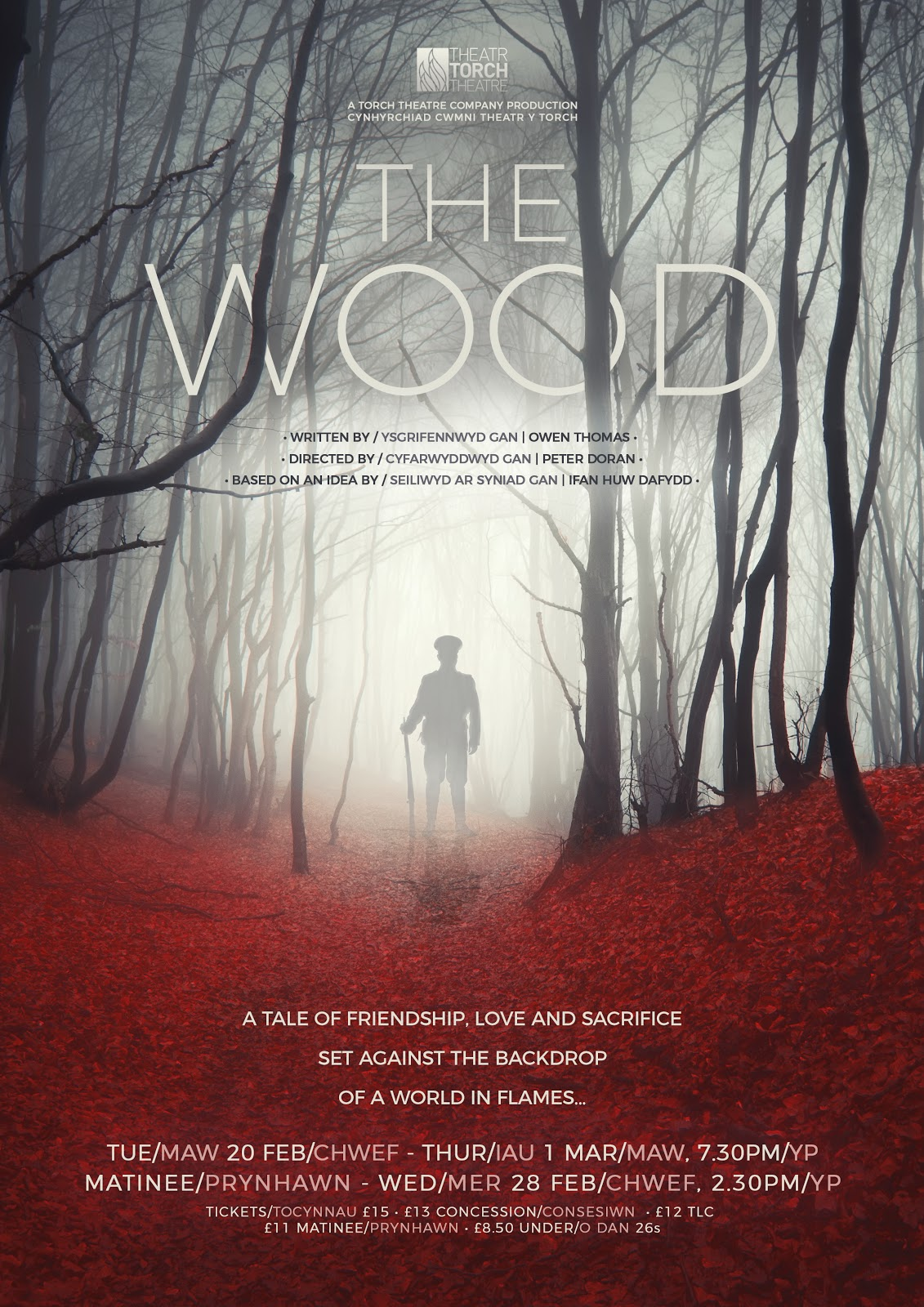 ", Torch Theatre Company Presents ""The Wood"""
