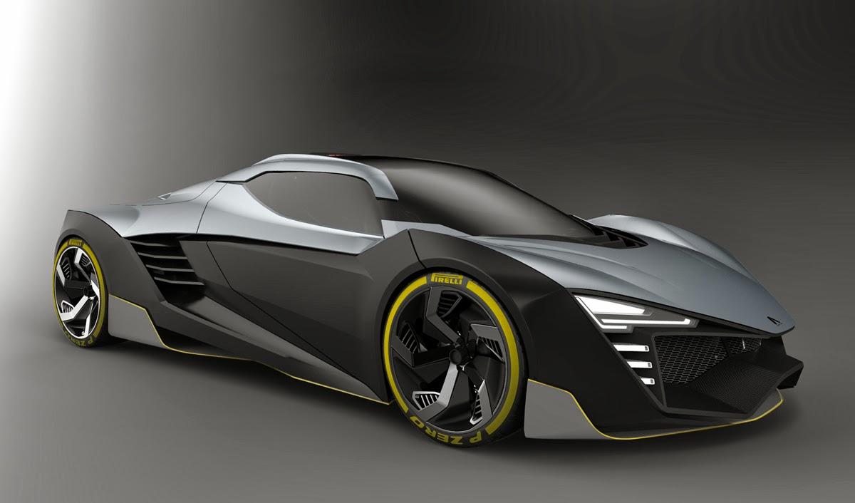AK Design : HYPERION Hybrid Sport Car