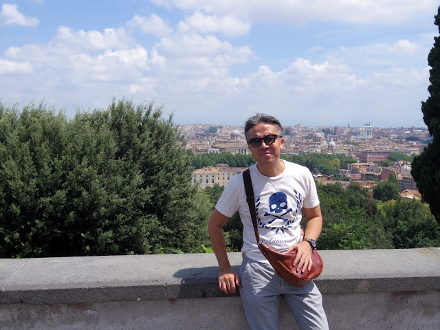 ローマのガリバルディ広場