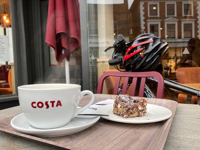 costa coffee rocky road cake
