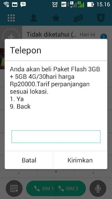 Paket Internet Telkomsel murah 20 ribu