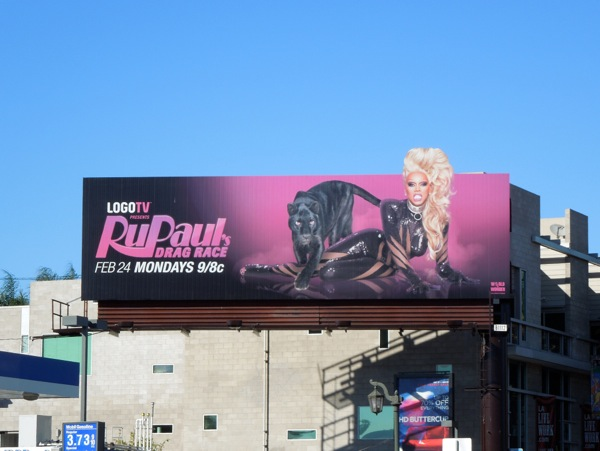 RuPauls Drag Race season 6 billboard