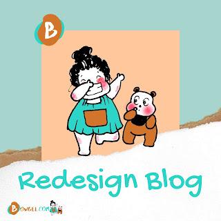 redesign blog bowgel.com