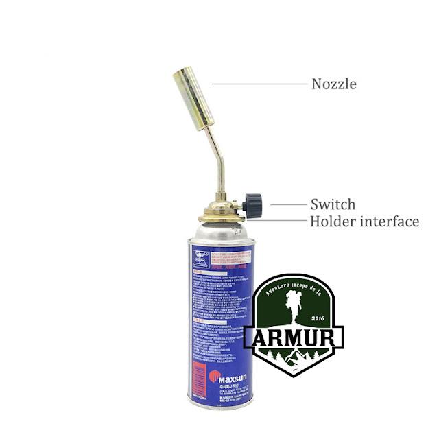 Arzator portabil butelie 227g spray