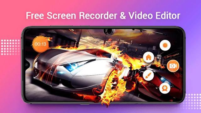 تنزيل Screen Recorder with Audio ، Master Video Editor  تطبيق مسجل الشاشة بالصوت ومحرر الفيديو
