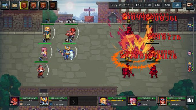 No brainer Heroes many chapters on the map allow the player to choose, the player can choose different routes on each map