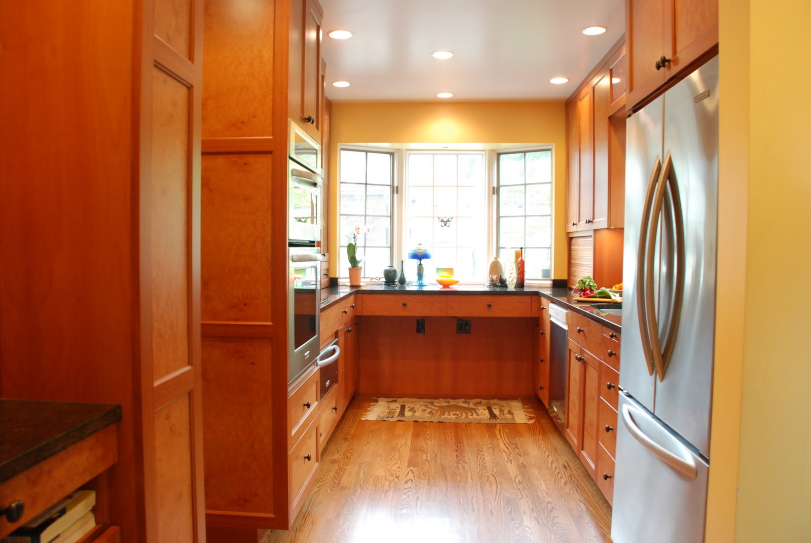 Narrow Galley Kitchen Vision Woodworks Inc Galley Kitchens Ideas For