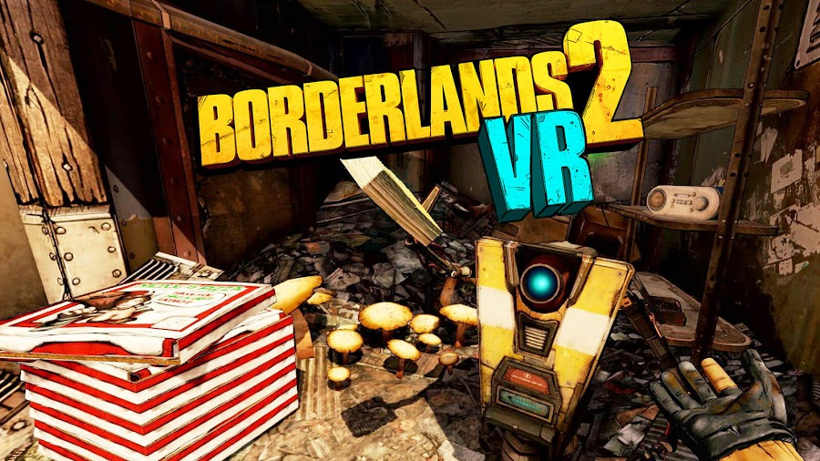 borderlands 2 vr ps4 playstation vr