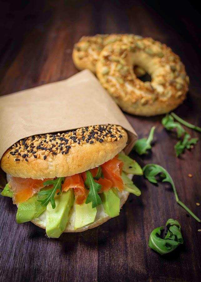 bagels-salmón-queso