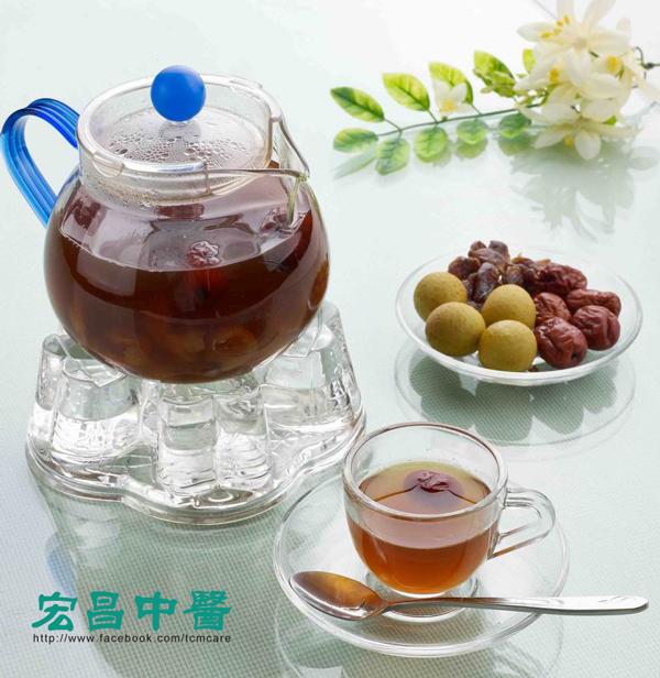 宏昌中醫診所 : 桂圓紅棗茶