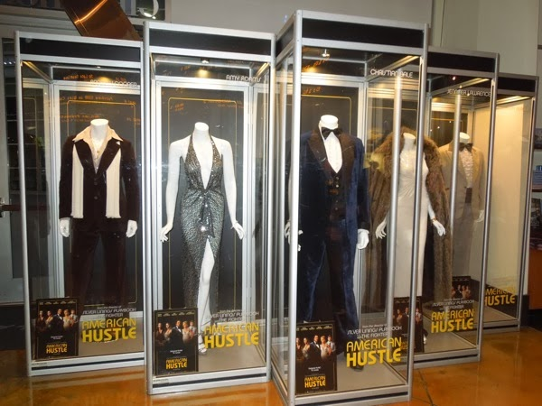 American Hustle movie costume exhibit