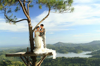 foto prewedding di kalibiru jogja