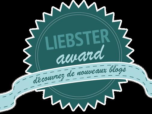 Liebster Award: Je révèle tout!