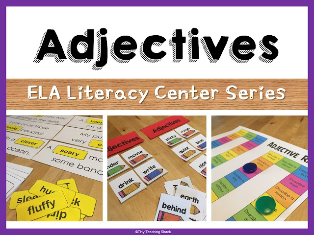https://www.teacherspayteachers.com/Product/Adjective-Center-Activities-2395913