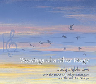 Judy Dyble with the band of Perfect Strangers and the Ad Hoc Strings