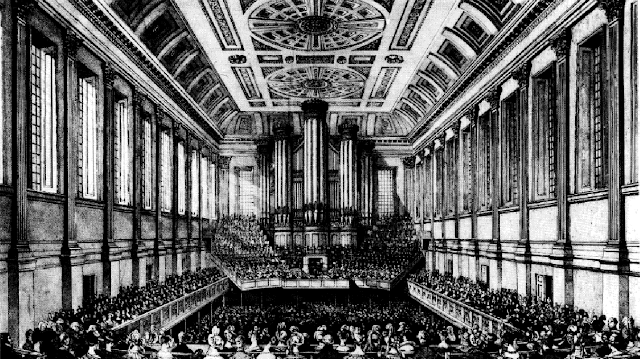 Birmingham Triennial Music Festival at the Town Hall in 1834